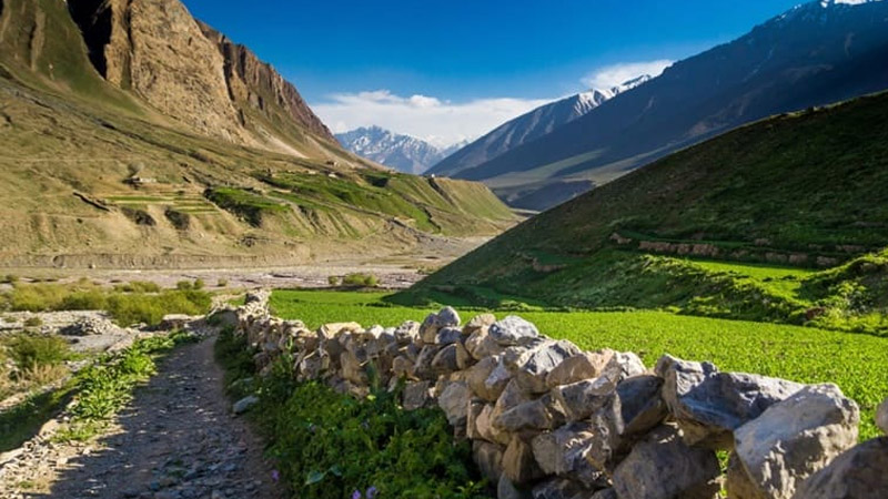 Pin Valley National Park in lahaul spiti