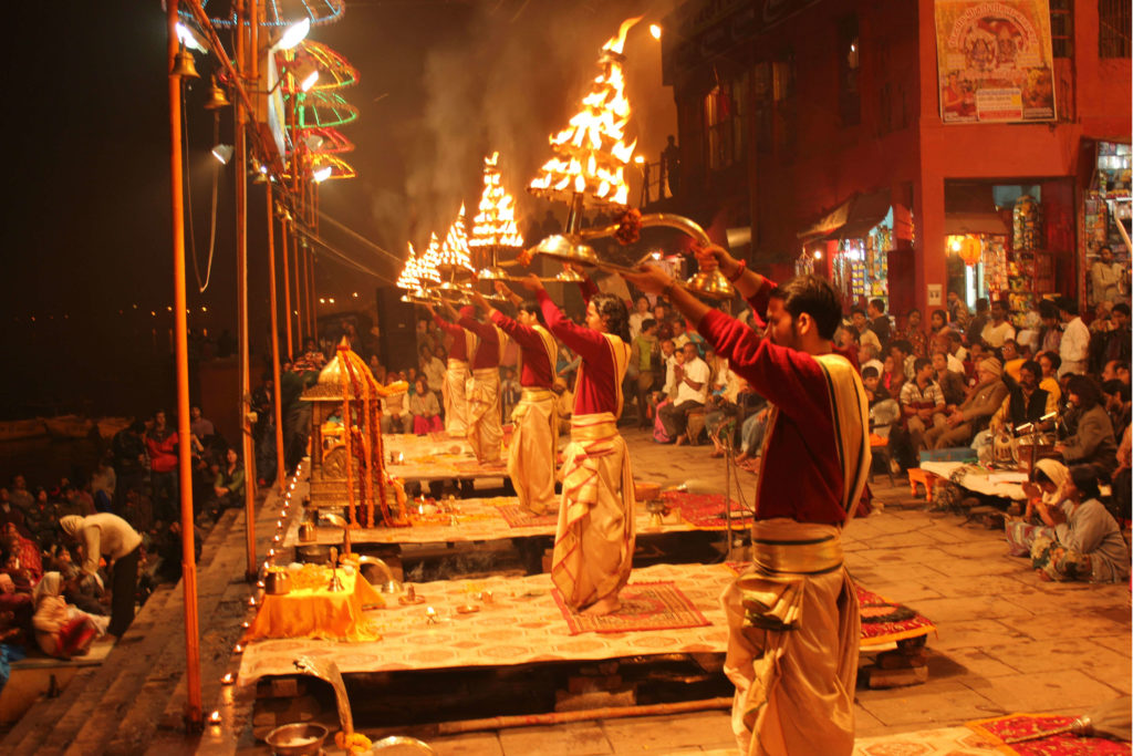 Holy Ganges Aarti
