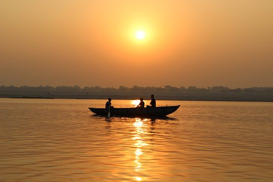 Boating in Ganges, Varanasi